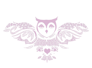Transparent The Spiritual Owl logo