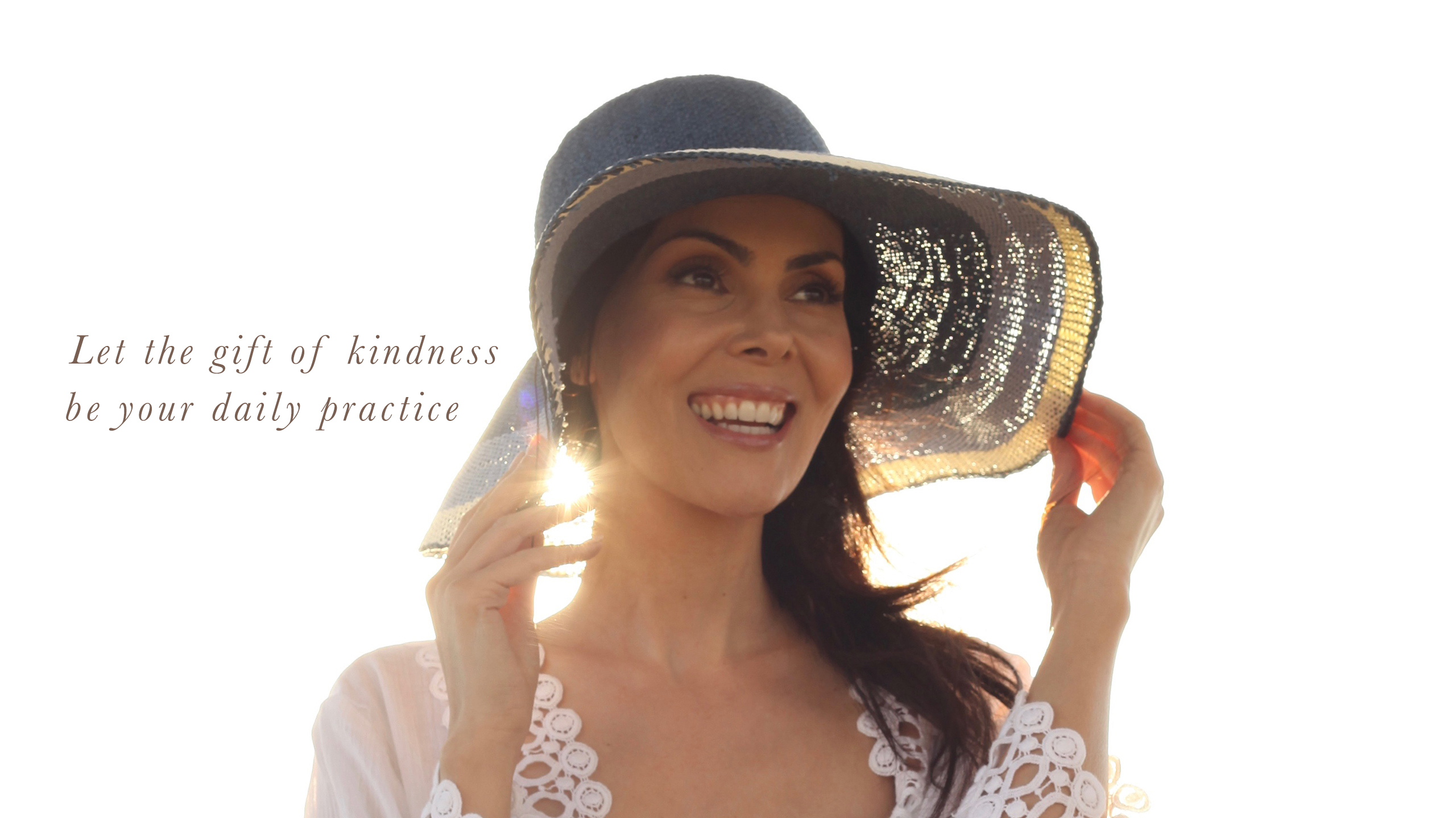 Bianca Let the Gift of Kindness be your daily prictice