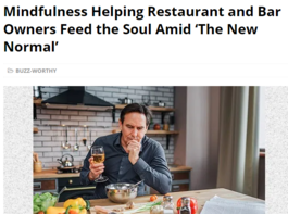 Mindfulness article in Food & Beverage Magazine